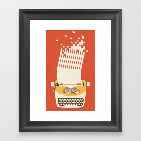 Ephemera - Part III Framed Art Print