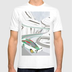 Stratos (Without Text) Mens Fitted Tee White MEDIUM