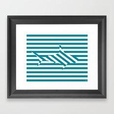 Shark 2 Framed Art Print