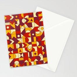 Geometric Pattern N03 Stationery Cards