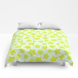 Star Fruit Comforters