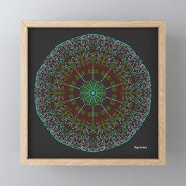 Cluster Framed Mini Art Print