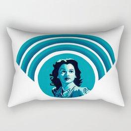 Hedy Lamarr Rectangular Pillow