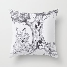 Are you my mother? Throw Pillow