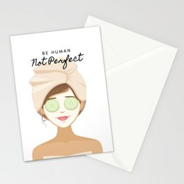 Not Perfect You Stationery Cards