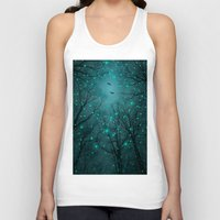 nirvana Tank Tops featuring One by One, the Infinite Stars Blossomed by soaring anchor designs