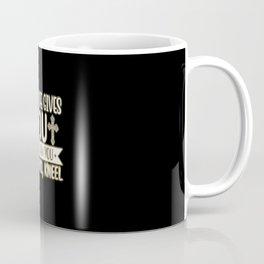 God Jesus Christ Religion Church Faith Prayer Coffee Mug