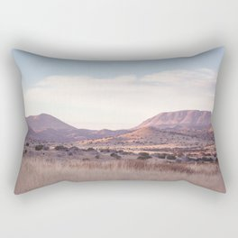 Marfa II - Sunset on the Range Rectangular Pillow