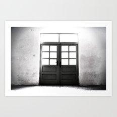 Doors to Hell Art Print