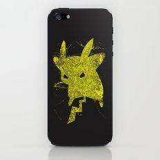 Yellow Monster iPhone & iPod Skin