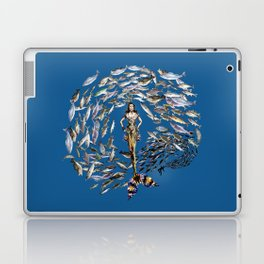 Mermaid in Monaco Laptop & iPad Skin