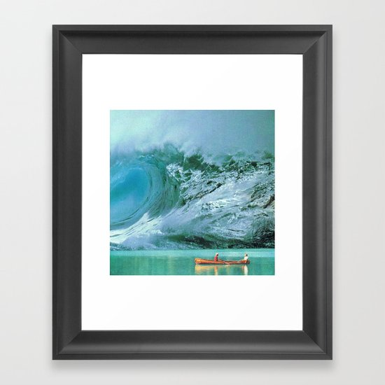 Something's On Your Mind (2) Framed Art Print