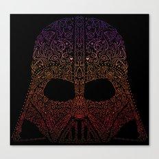 Darth Neon Trooper Canvas Print