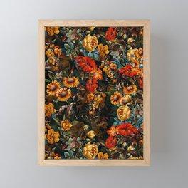Midnight Garden VII Framed Mini Art Print