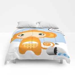 Oopsie Monkey Comforters