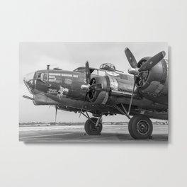 Boeing B-17 Flying Fortress Metal Print