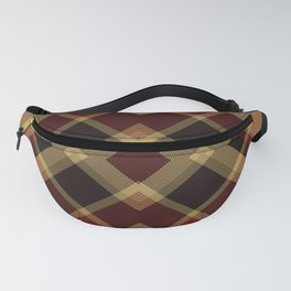 Colors Of Christmas (Plaid 3) Fanny Pack