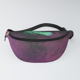 Jellyfish in Space Fanny Pack