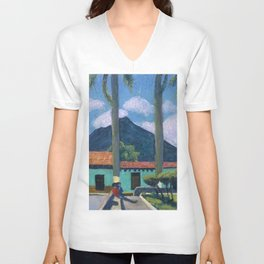 Antigua Park Bench Unisex V-Neck
