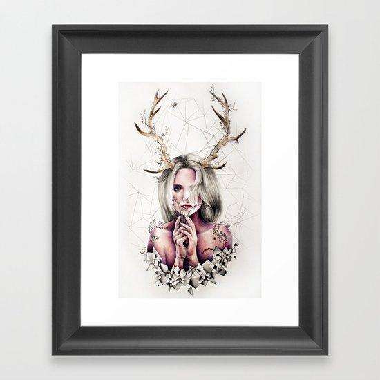 The Antlers  Framed Art Print