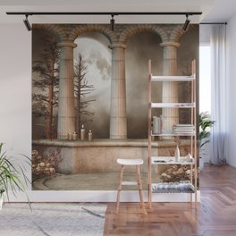 Gothic Marble Columns Wall Mural