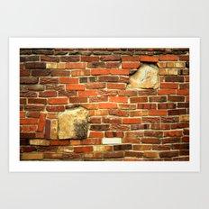 brickwall Art Print