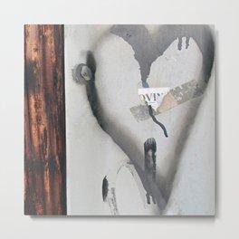 My Paper Heart Metal Print