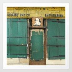 Paris Bookstore No. 2- Shakespeare And Company Photography Art Print