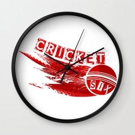 Cricket Six Wall Clock