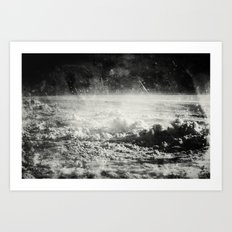 Somewhere Over The Clouds (I Art Print