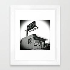 Shoe shop Framed Art Print