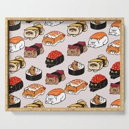 Sushi Persian Cat Serving Tray