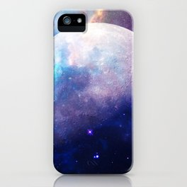 Galaxy Moon Space iPhone Case