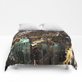 Chicago City Skyline Comforters