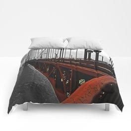 Crossing the Golden Gate Comforters