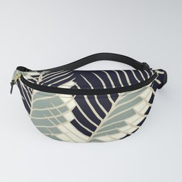 Oriental Palm Riddle Vintage Fanny Pack