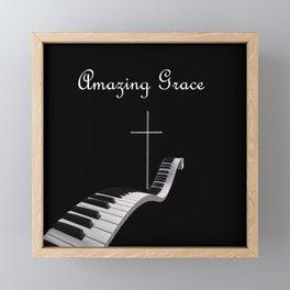 Amazing Grace Framed Mini Art Print