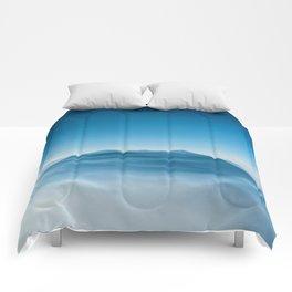 Blue Mountains (Color) Comforters