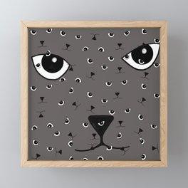 JD (John Doe) Cat Framed Mini Art Print