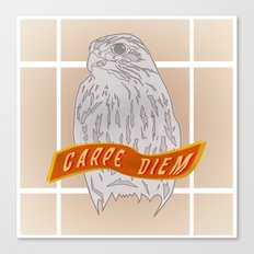 Falcon Carpe Diem Canvas Print