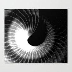 Ghostly spiral Canvas Print
