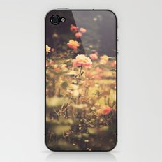 One Rose in a Magic Garden (Vintage Flower Photography) iPhone & iPod Skin