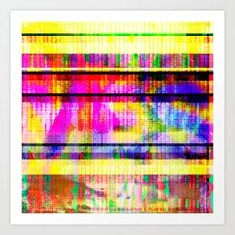 Databending #2 (Hidden Messages) Art Print