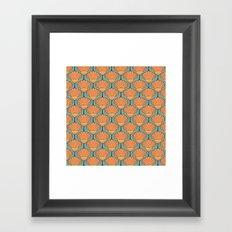 Deco Shells Framed Art Print