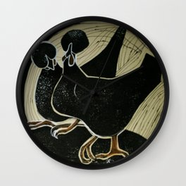 Fabulous Fowls Wall Clock