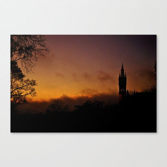Glasgow University Canvas Print
