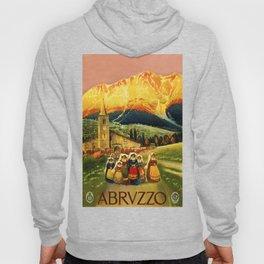 Vintage Abruzzo Italy Travel Hoody