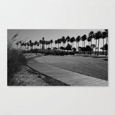 calm trails Canvas Print