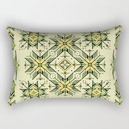 shaman trance | tribal pattern Rectangular Pillow