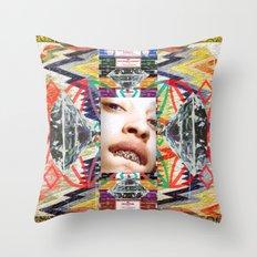 Ferrrarrri Diamondz Throw Pillow